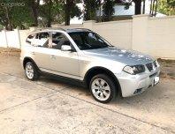 BMW X3 2.5i โฉม E83 สีเทา เกียร์ออโต้ สุดยอด SUV สภาพสวยมาก