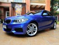 🌟🌟เครดิตดีฟรีดาวน์🌟🌟✨2016 BMW 218i M Sport Coupe✨