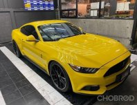 #Ford #mustang สีเหลืองแท้#แต่งshelby gt รถปี2017