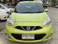 2013 Nissan MARCH 1.2 V รถเก๋ง 5 ประตู