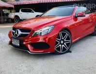 Benz E250 Coupe Cabiolet AMG Soft Top ปี 2016
