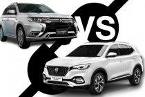 คันไหนดี MG HS PHEV หรือ Mitsubishi Outlander PHEV ที่ราคาแพงกว่า