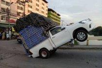กฎหมายรถกระบะ บรรทุกของอย่างไรไม่ให้ถูกจับ