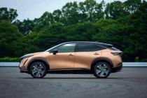เทรนด์สีใหม่ ทองแดง อาคัตสึกิ และ สีเขียว ออโรร่า บน Nissan Ariya