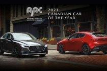 Mazda 3 ถูกใจชาวแคนาเดี้ยน คว้ารางวัล Canadian Car of the Year 2021
