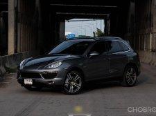 จองด่วน Porsche Cayenne S Hybrid ปี 2012 (ZBL) สีเทาเข็ม ภายในสีดำ เครื่องฝาดำ