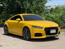 2018 Audi TT Coupé 45 TFSI quattro S-line | สี Vegas Yellow | รถศูนย์ ประวัติสวย วารันตีศูนย์เหลือ ๆ