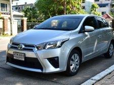 Toyota YARIS 1.2E 2015 โปรดีดี ฟรีดาวน์ ส่งอีกทีปีหน้า เครื่องดี ช่วงล่างแน่น วิ่งน้อย ไมล์แท้