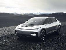 Faraday Future FF 91 รถยนต์ไฟฟ้า 1,050 แรงม้า