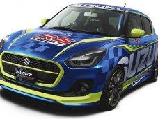 มาดูภาพ Suzuki Swift รุ่นใหม่แต่งแบบรถแข่ง