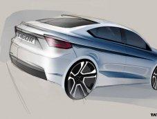 Tata ล่อยภาพทีเซอร์สเกตช์รถยนต์ซีดานขนาดเล็กรุ่นใหม่ Tata Tigor เจอตัวจริงมีนาคมนี้