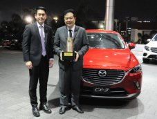 Mazda CX-3 คว้ารางวัลรถยอดเยี่ยม Thailand Car of The Year 2016