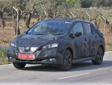 แอบถ่าย! Nissan Leaf รถแฮตช์แบ็คพลังไฟฟ้ารุ่นล่าสุด สปอร์ต เพรียว ไฮเทคเกินตัว