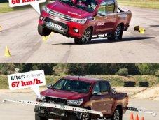 Toyota Hilux 2016 โฉมยุโรปผ่านการทดสอบ Moose Test แล้ว