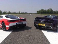 ลองเปรียบเทียบกันระหว่าง Ferrari 458 กับ McLaren 675LT