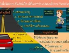 8 ปัจจัย ที่ประกันใช้คิดค่าเบี้ยให้รถของคุณ