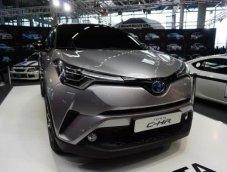 ลูกค้าในทวีปยุโรปสามารถเลือกตัวถังสีด้านพิเศษสำหรับ Toyota C-HR 2017 ได้แล้ว