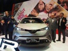 Toyota C-HR เวอร์ชั่นมาเลเซียจะเปิดตัวช่วงไตรมาสแรกปี 2018