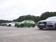 เปิดศึกดวลรถแฮทช์แบ็คสุดแรง!! เมื่อ Civic Type-R แข่งเทียบชั้นรถแรงยุโรป