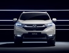 Honda CR-V Hybrid 2018 เตรียมเปิดตัวอย่างเป็นทางการ ที่งาน Frankfurt Motor Show 2017