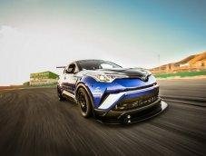 Toyota C-HR R-Tuned 2018 เวอร์ชั่นพิเศษสำหรับลงสนามแข่ง เตรียมเผยโฉมที่งาน SEMA Show 2017