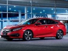 Honda Civic เตรียมเปิดตัวสีใหม่ลุยตลาดด้วยสีแดง Rallye Red