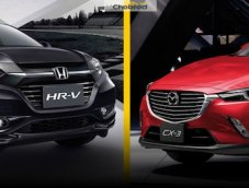 เทียบสเปค Honda HR-V vs Mazda CX-3 คันไหนเหมาะกับคุณ