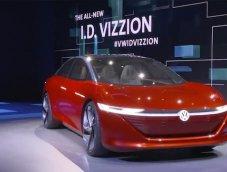 """พวงมาลัย ไม่จำเป็นอีกต่อไป กับซีดานแห่งอนาคต """"Volkswagen I.D. Vizzion concept"""""""
