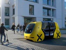 รถโรงเรียนขับขี่อัตโนมัติ Volkswagen SEDRIC School Bus