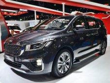 Kia Grand Carnival Facelift ยนตรกรรมใหม่สำหรับรถครอบครัว