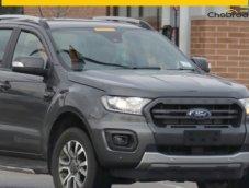 หลุดภาพ Ford Ranger Wildtrak ไมเนอร์เชนจ์ที่อาจได้ใช้เครื่องรุ่นใหม่ Ecoblue