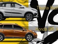 เปรียบเทียบรถ 7 เบาะน่าขับ Toyota Rush กับ Honda BR-V เลือกคันไหนใช่ที่สุด?