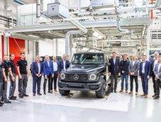 Mercedes-Benz G-Class เริ่มการผลิตใหม่อีกครั้ง