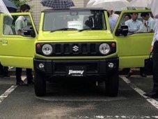 ภาพหลุดเล็ดลอด! Suzuki Jimny New Gen เริ่มเปิดตัวรอบจำกัดคนดูที่ญี่ปุ่นแล้ว