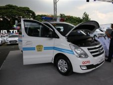 Hyundai มอบ H-1+Elantra ให้ตำรวจฟิลิปปินส์ใช้ลาดตระเวน
