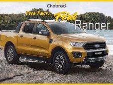 Five Fact : 5 จุดการเปลี่ยนแปลงน่าสนใจใน Ford Ranger Wildtrak ไมเนอร์เชนจ์ 2018