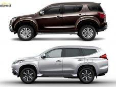 Isuzu Mu-X กับ Mitsubishi Pajero Sport อเนกประสงค์ PPV ต้องเลือกคันไหน