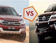 จับ SUV มาท้าชน!! เปรียบเทียบ Toyota Fortuner กับ Ford Everest