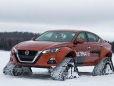 Teana+Ultimate! Nissan Altima-te AWD โปรเจ็กท์รถลุยหิมะตัวล่าสุด