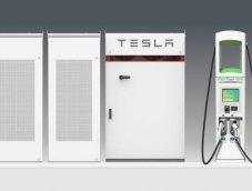 บริษัทชาร์จรถ EV อเมริกันติดตั้งแบตเตอรี่ Tesla เสริมประสิทธิภาพ