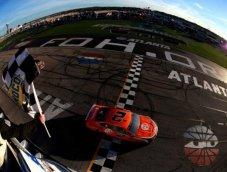 Mustang ชนะ NASCAR Cup Race ครั้งแรก! Brad K ได้เฮ Atlanta 500