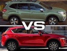วัดกันหมัดต่อหมัด Subaru Forester 2019 ปะทะ Mazda Cx-5 2019 มีดีต่างกันที่ตรงไหน