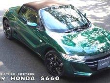 """จิ๋วแต่แจ๋ว """"HONDA S660 British Green"""" สปอร์ตย่อส่วนงามหยด"""