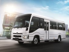 """เปิดตัว """"Toyota Coaster"""" รถตู้พานิชย์ 20 ที่นั่งค่าตัว 1.96 ล.พร้อมลุยตลาดรถไทย"""