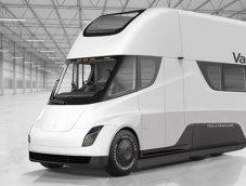 """จับ """"Tesla Semi"""" รถบรรทุกไฟฟ้าต้นแบบแปลงเป็น Motorhome"""