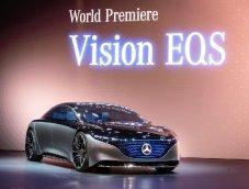 Mercedes-Benz Vision EQS 2019 รถยนต์ไฟฟ้าหรูระดับ S-Class งานดีสุดไฮเทค ที่ทำได้จริงแล้วตอนนี้