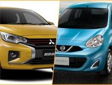 Mitsubishi Mirage 2020 VS Nissan March น้องใหม่จะโค่นเจ้าตลาดอีโค่คาร์ได้หรือไม่ มาดูสเปคจริงกัน