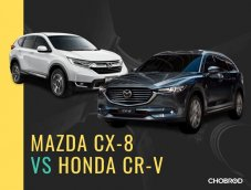 เปิดศึกรถอเนกประสงค์สองค่ายดัง Mazda CX-8 vs Honda CR-V
