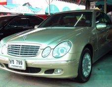 2003 MERCEDES-BENZ E200 Kompressor รับประกันใช้ดี
