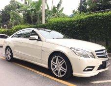 ขายรถ BENZ E COUPE E250 CGI ปี2011 W207